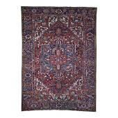 Antique Persian Heriz Exc Condition Pure Wool Oriental