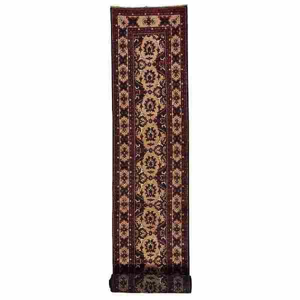 XL Runner Fine Khamyab Oriental Rug Hand Knotted