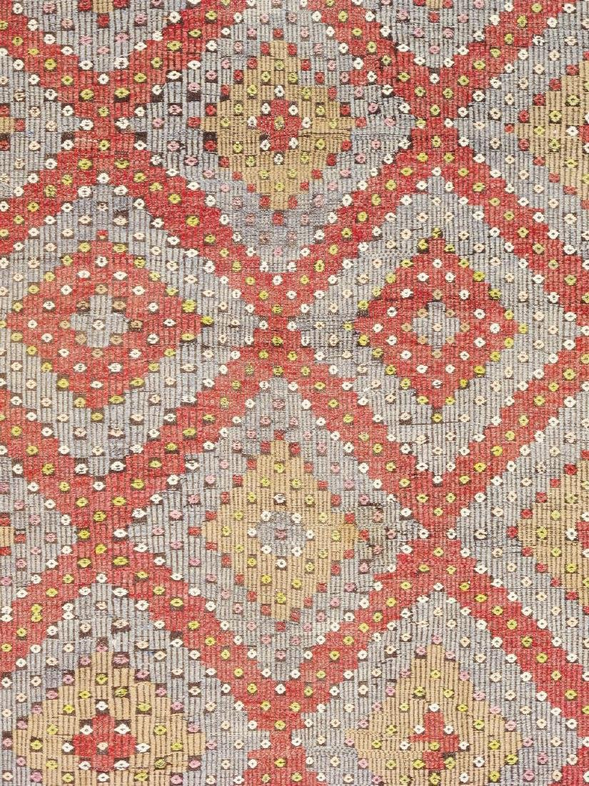 Vintage Kilim Collection Hand-Woven Lamb's Wool Area - 2