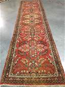EXQUISITE VINTAGE AUTHENTIC PERSIAN SAROUK RUNNER