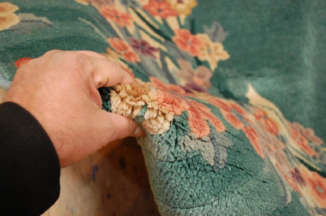 "MINT ART DECO RARE SIZE CHINESE NICHOLS RUG 5'x 7'10"". - 6"