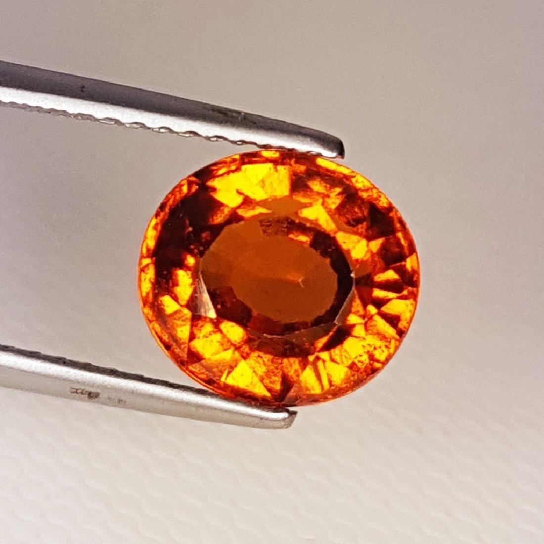 3.00 ct AAA Gem Natural Hessonite Garnet