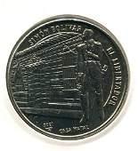 2001 CUBA 1 Peso SIMON BOLIVAR, CASA NATAL UNC
