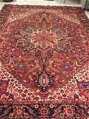 SemiAntique Persian Heriz 116x811