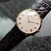 Audemars Piguet Vintage 1970s Solid 18k Gold Swiss Thin