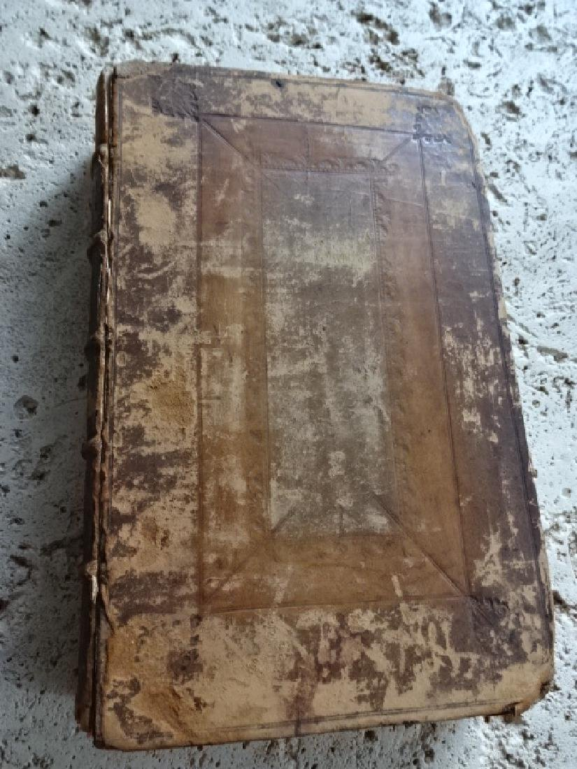 1722 Historical Register and Diary