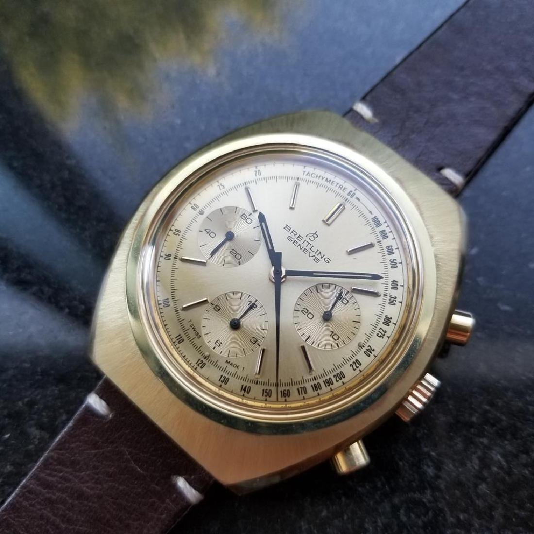 BREITLING 1451 Tricompax Manual Wind Chronograph 42mm