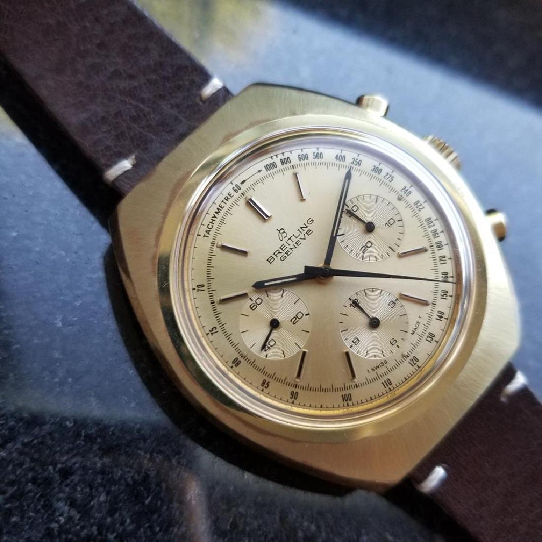 BREITLING 1451 Tricompax Manual Wind Chronograph 42mm - 2