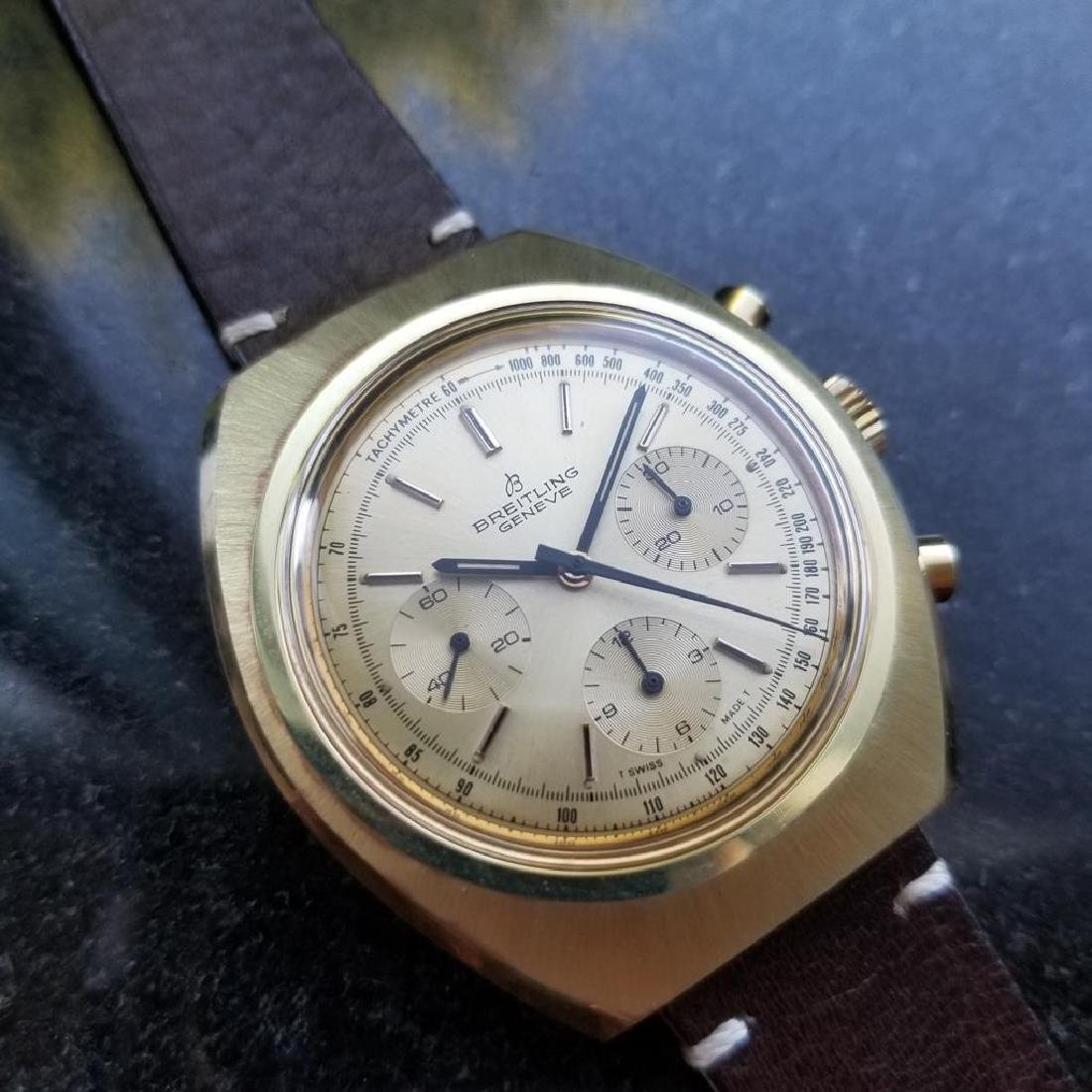 BREITLING 1451 Tricompax Manual Wind Chronograph 42mm - 3