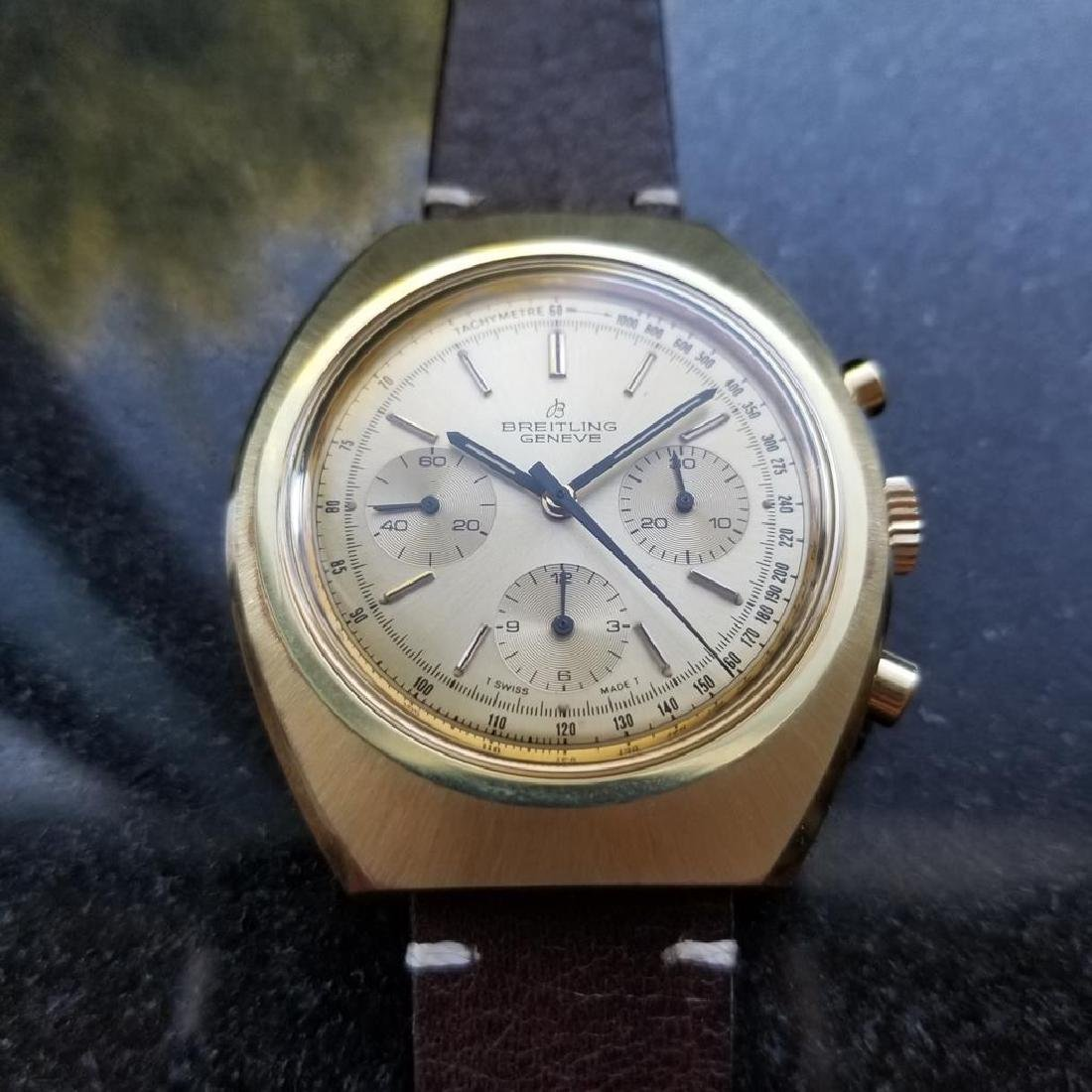 BREITLING 1451 Tricompax Manual Wind Chronograph 42mm - 4