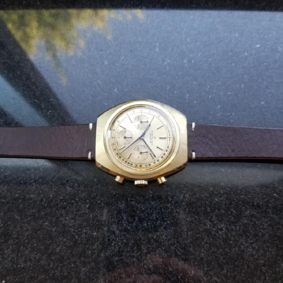 BREITLING 1451 Tricompax Manual Wind Chronograph 42mm - 7