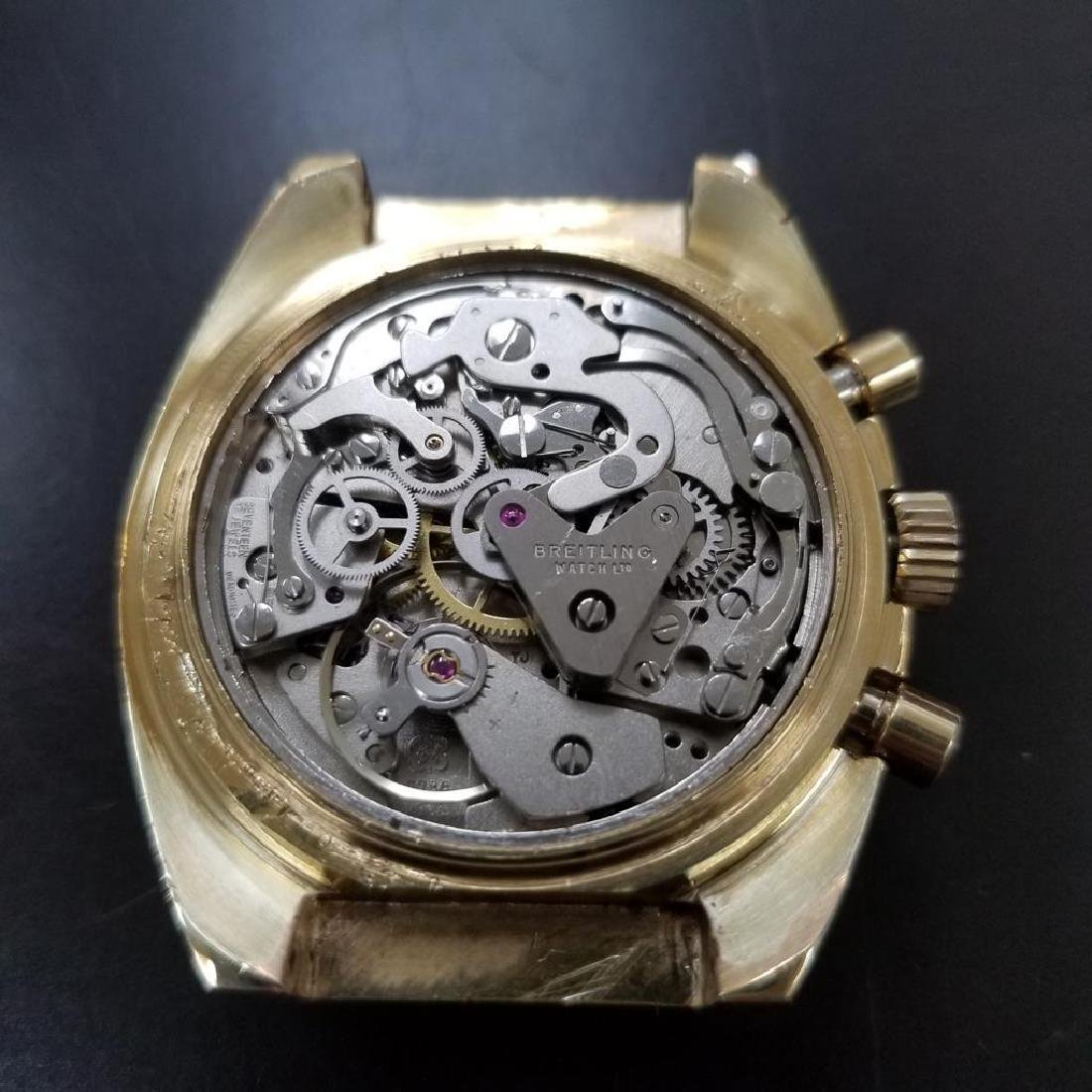 BREITLING 1451 Tricompax Manual Wind Chronograph 42mm - 9