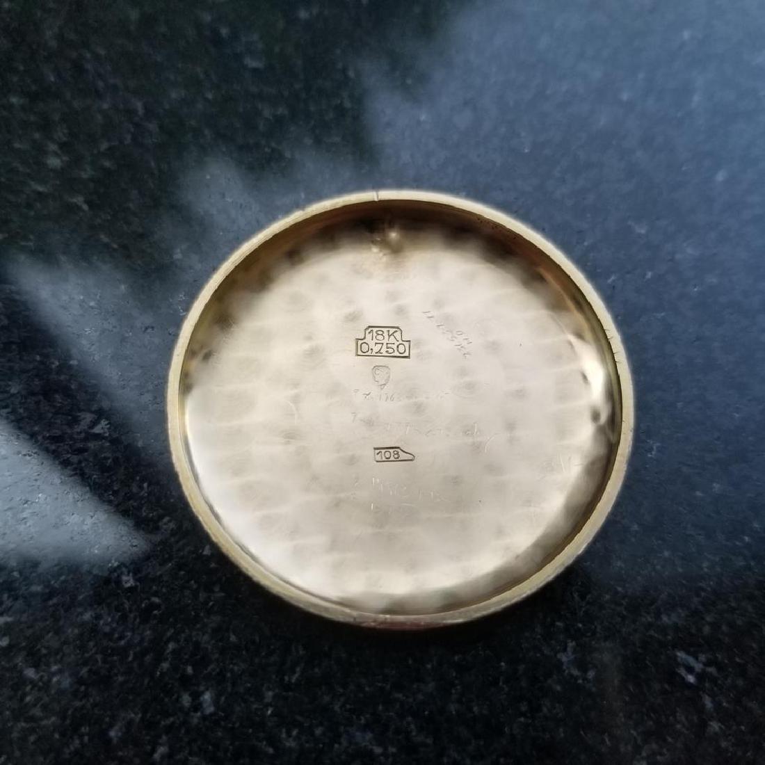 BREITLING Men's 18K Solid Rose Gold Chronograph ref.787 - 10