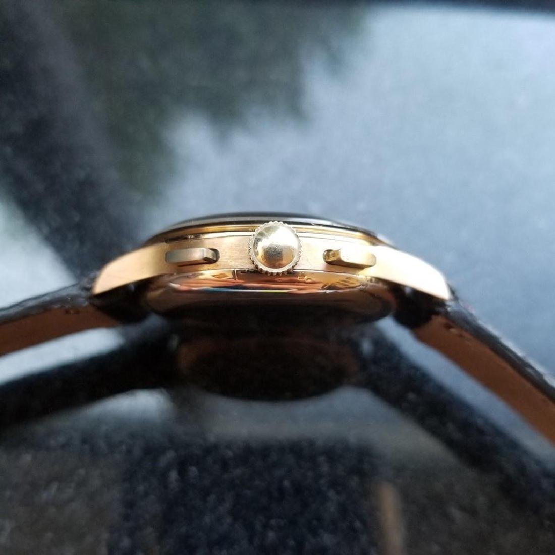 BREITLING Men's 18K Solid Rose Gold Chronograph ref.787 - 5
