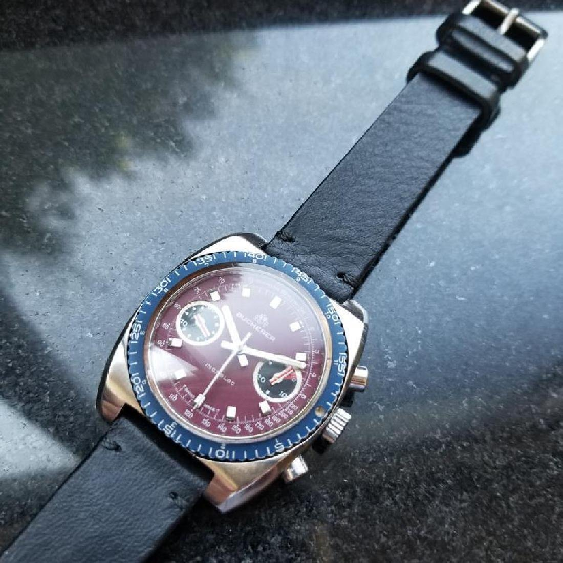 BUCHERER Men's Chronograph Valjoux cal.7733 Vintage - 4