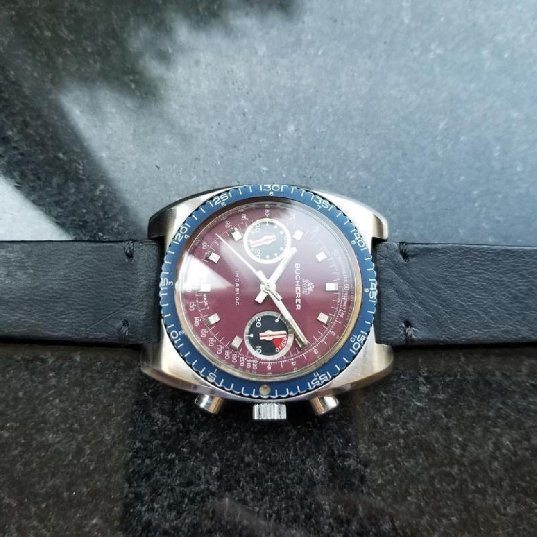 BUCHERER Men's Chronograph Valjoux cal.7733 Vintage - 6