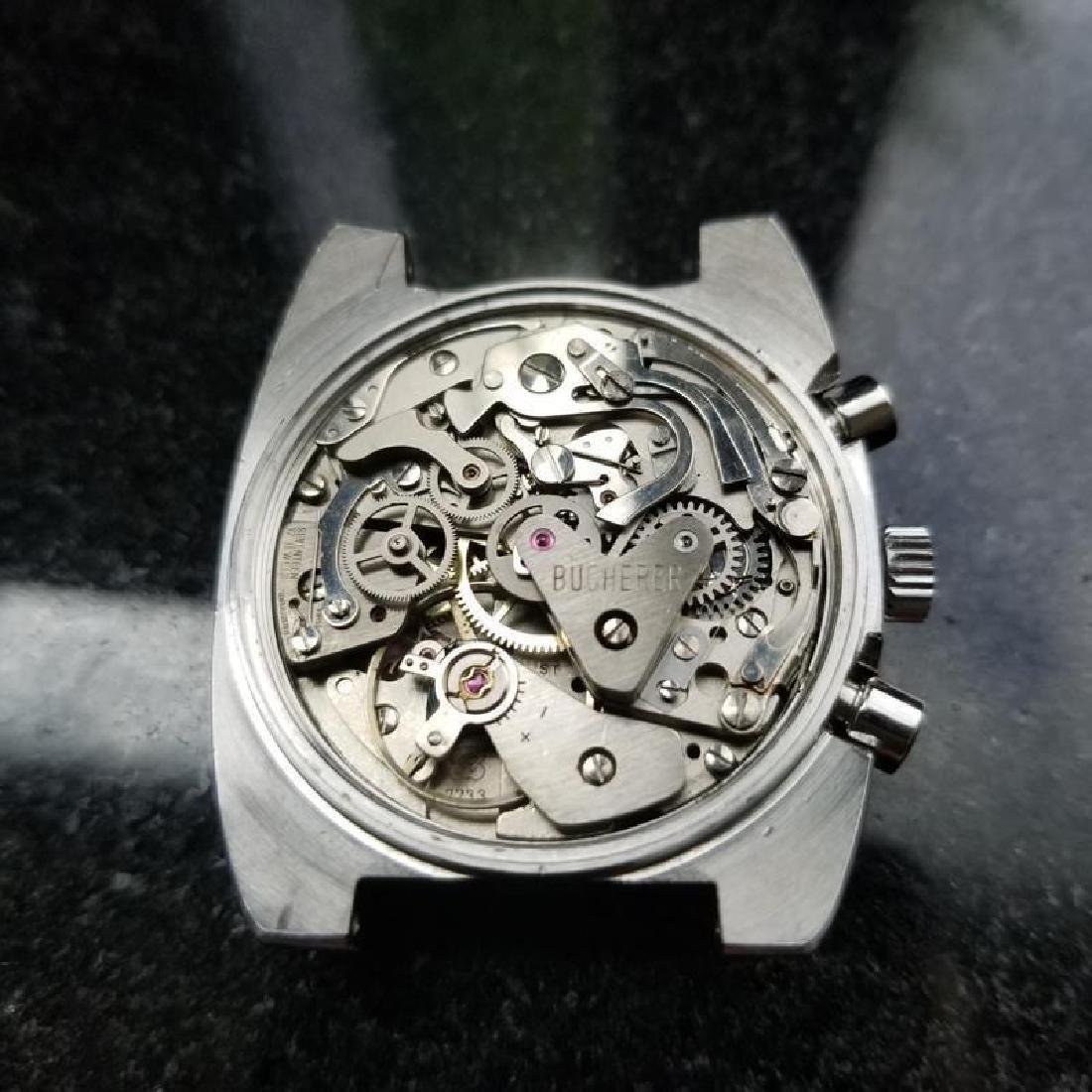 BUCHERER Men's Chronograph Valjoux cal.7733 Vintage - 9