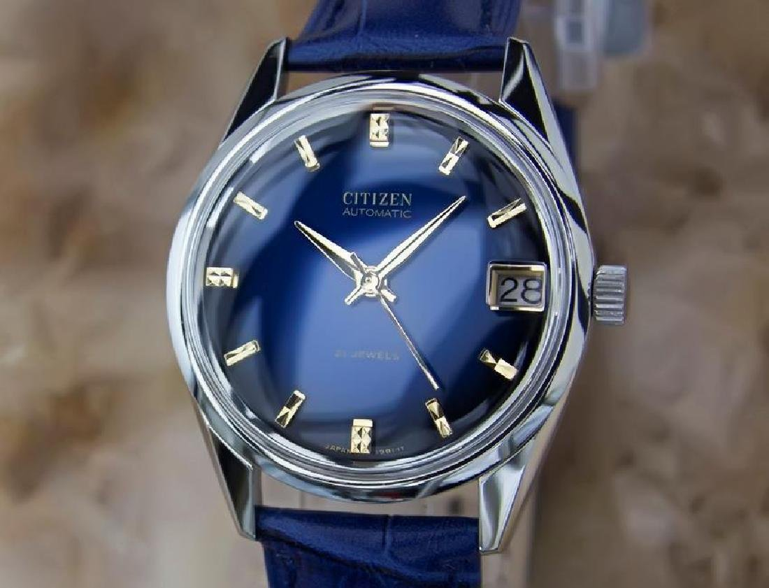 Citizen Men's Stainless Steel Made in Japan 1970s
