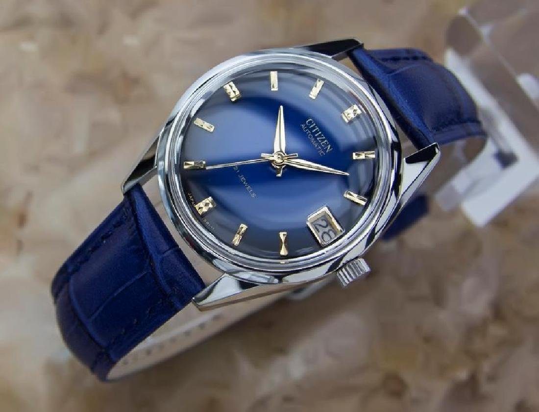 Citizen Men's Stainless Steel Made in Japan 1970s - 2