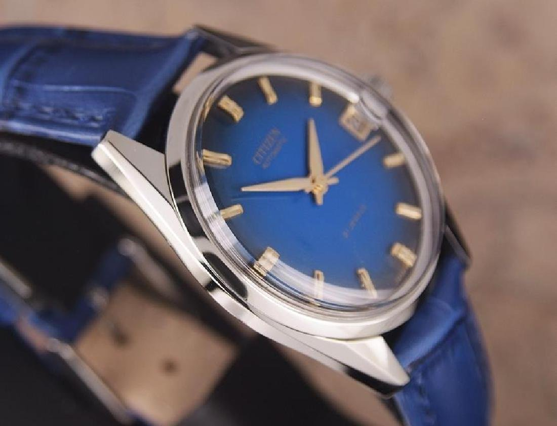 Citizen Men's Stainless Steel Made in Japan 1970s - 5