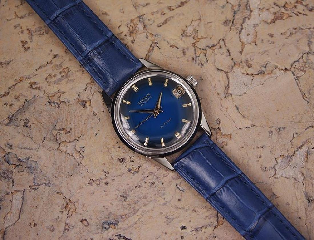 Citizen Men's Stainless Steel Made in Japan 1970s - 6