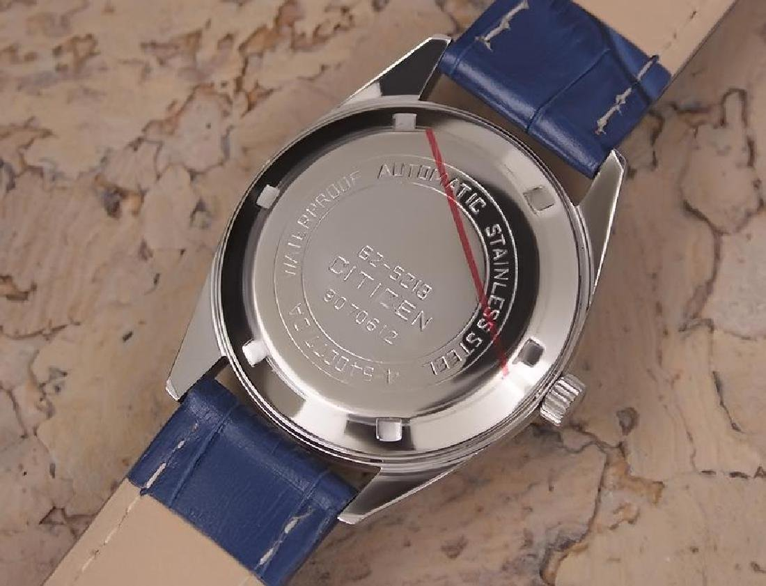 Citizen Men's Stainless Steel Made in Japan 1970s - 7