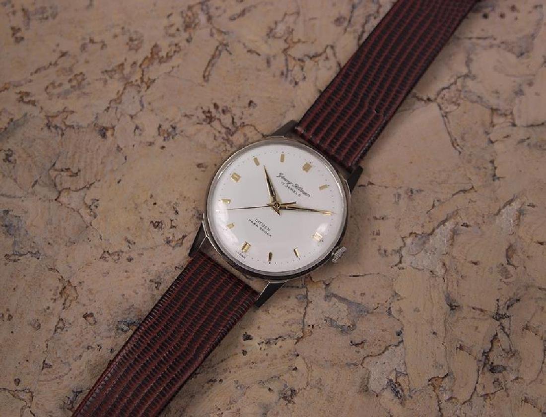 Citizen Young Homer 1960s Manual 34mm Vintage Men's - 6