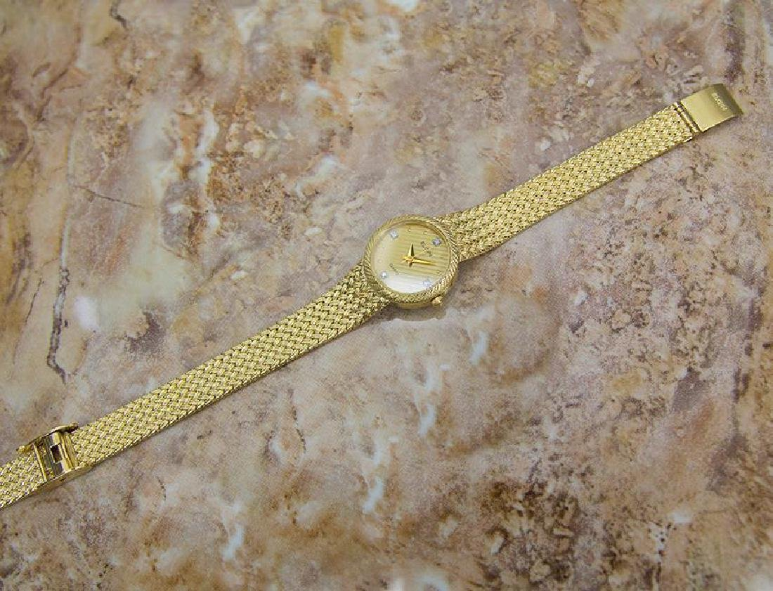 Elgin Swiss Made Ladies Gold Plated Luxurious 22mm - 6