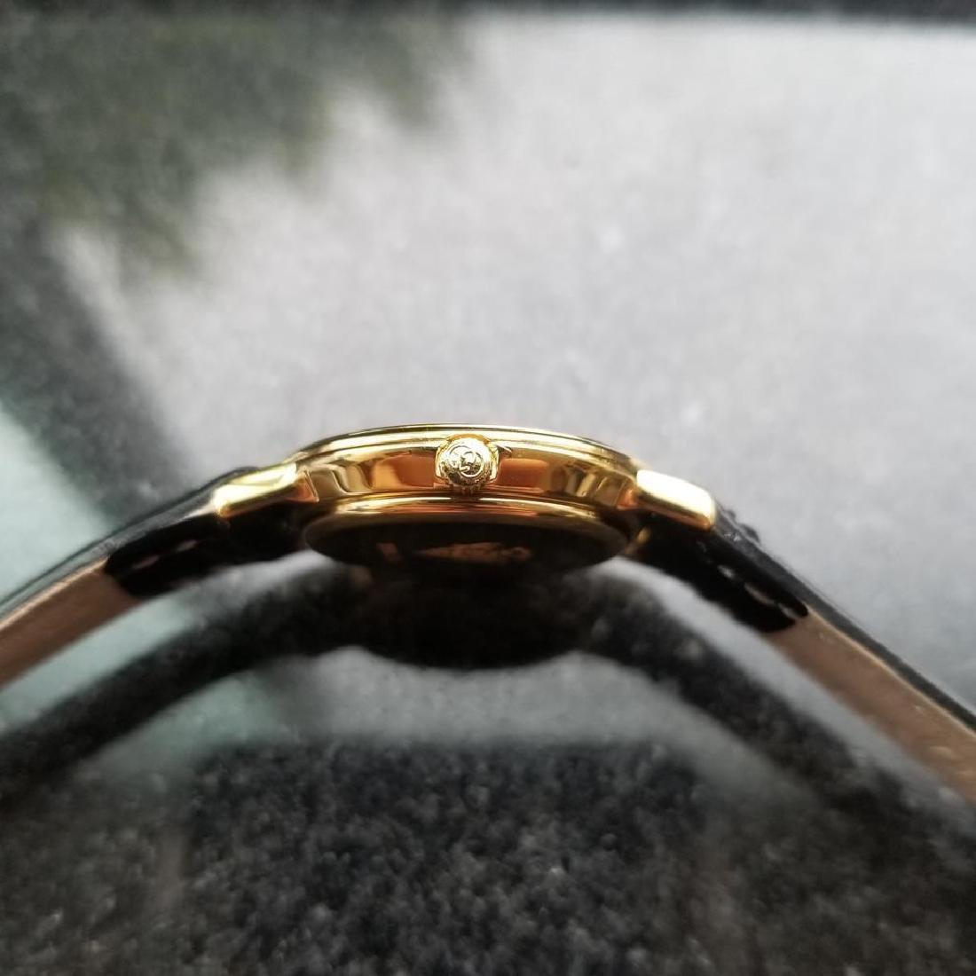 GUCCI Ladies Gold-Plated 3000.2.L Lux Swiss Dress Watch - 6