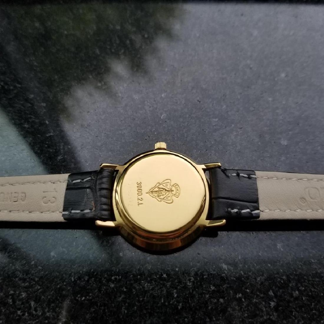 GUCCI Ladies Gold-Plated 3000.2.L Lux Swiss Dress Watch - 9