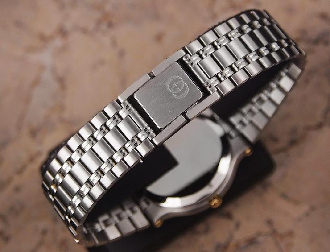 Gucci 9000M Swiss Made Stainless Steel Men's Luxury - 7