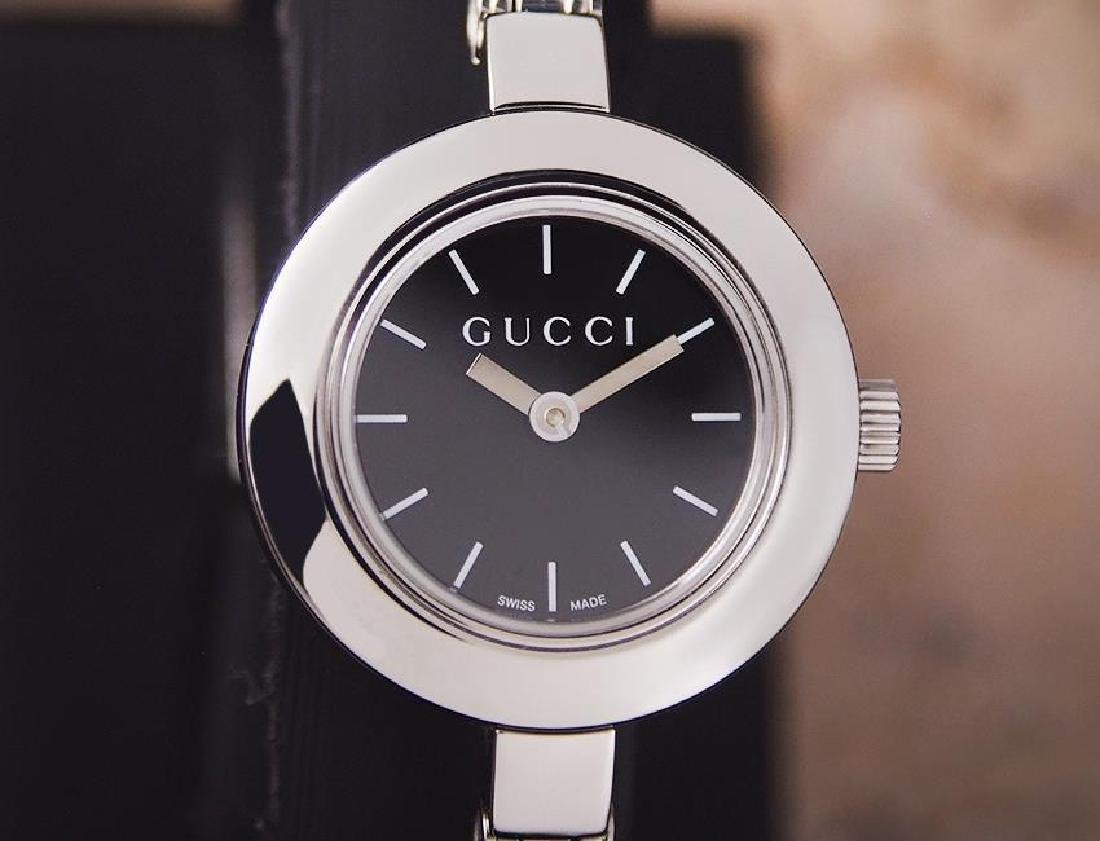Gucci Swiss Made Luxury Stainless Steel Ladies Quartz