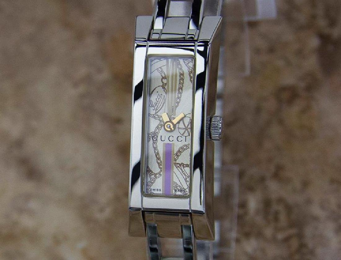 Gucci 110 Swiss Made Ladies Stainless Steel Quartz