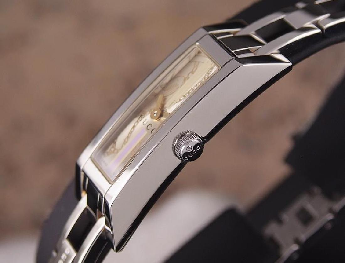 Gucci 110 Swiss Made Ladies Stainless Steel Quartz - 3