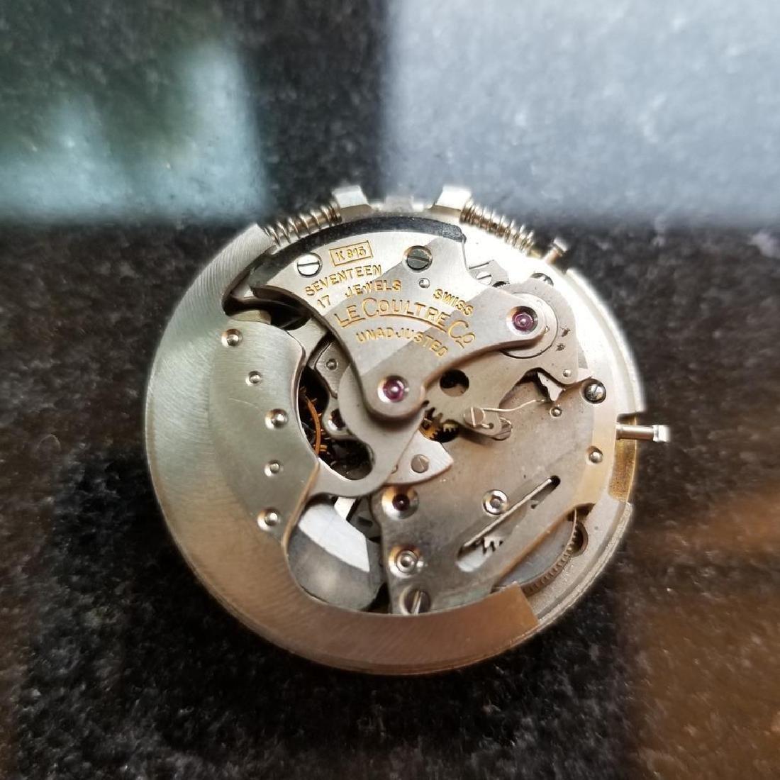 LECOULTRE Men's Memovox Alarm cal.815 Automatic 14K - 9