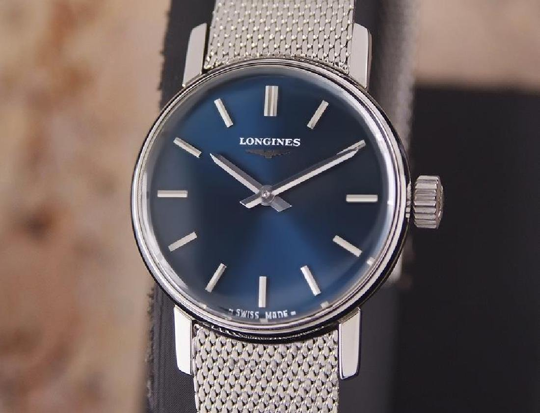 Longines Ladies Swiss Made Manual Stainless Steel 1980s