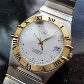 OMEGA Men's Constellation 18K Gold & SS 368.1075