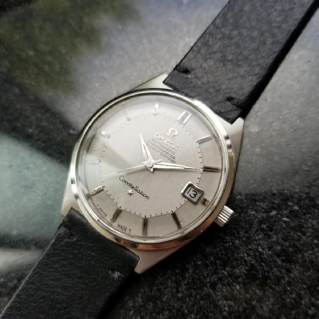 Omega Vintage 1968 Constellation Piepan Rare Automatic - 3