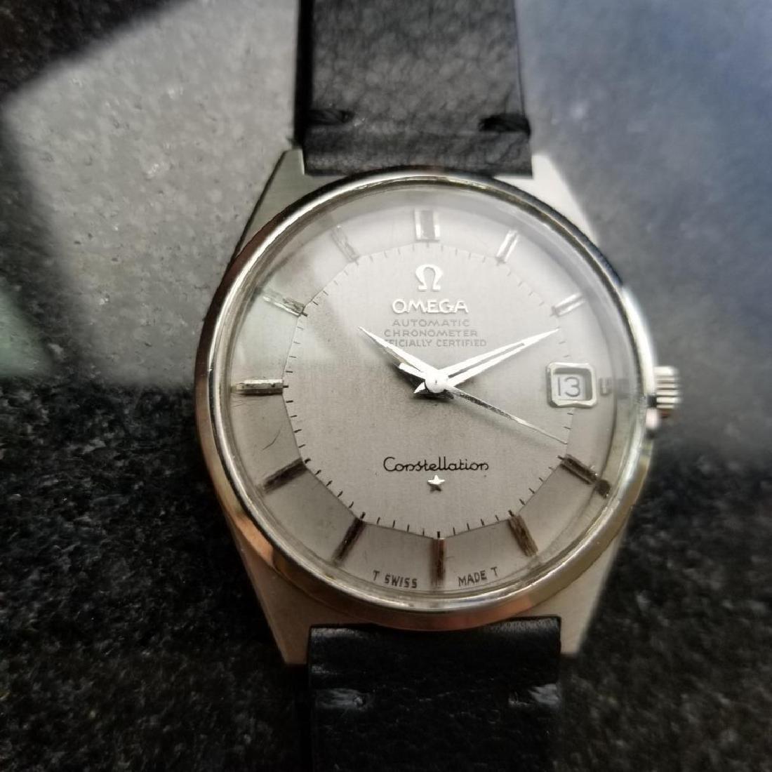 Omega Vintage 1968 Constellation Piepan Rare Automatic - 4