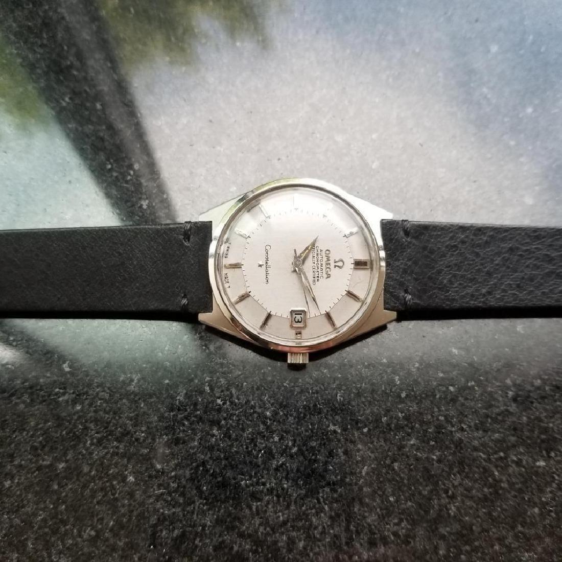 Omega Vintage 1968 Constellation Piepan Rare Automatic - 5