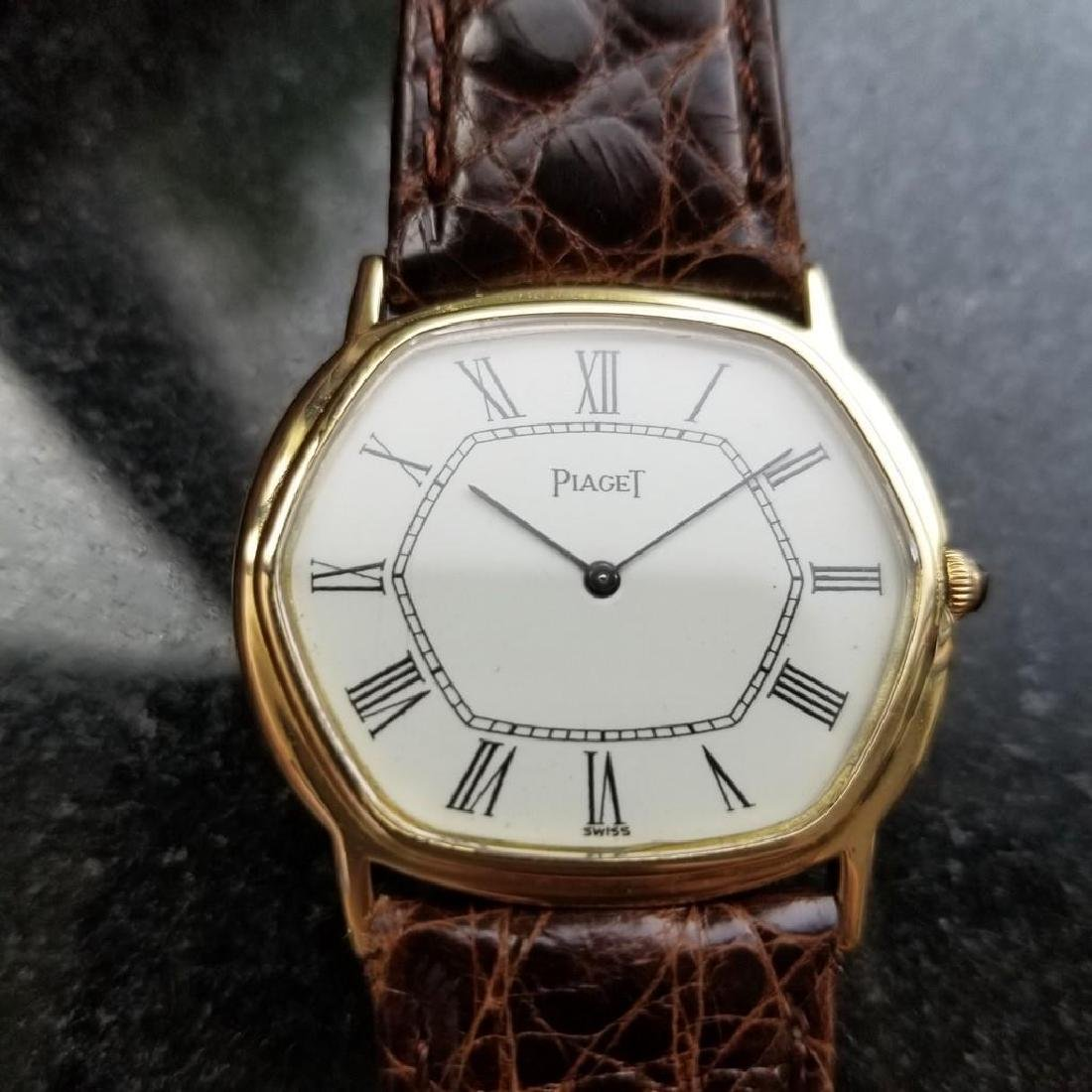 PIAGET ref.9597 Solid 18K Gold cal.9P2 Manual Hand-Wind