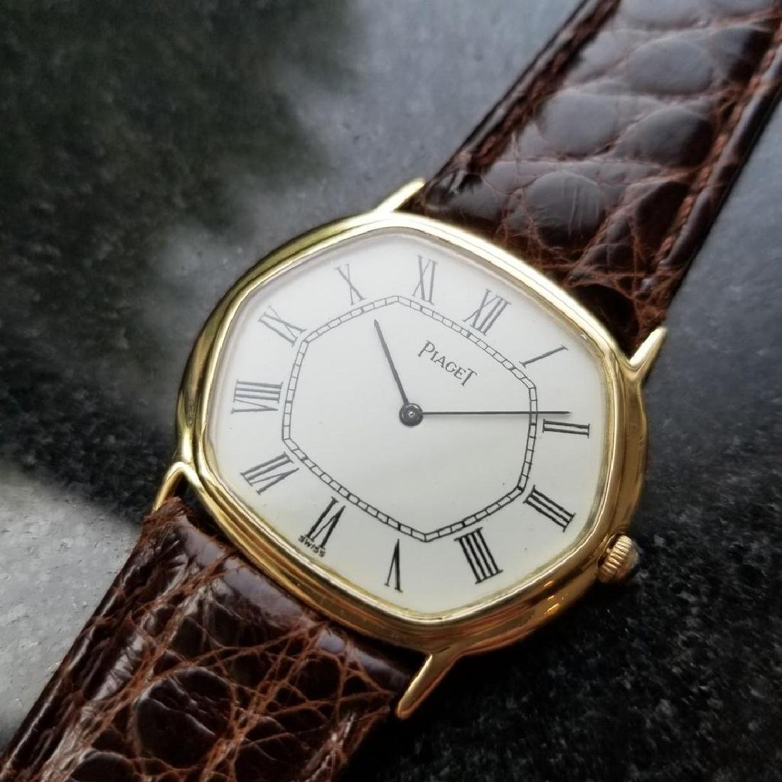 PIAGET ref.9597 Solid 18K Gold cal.9P2 Manual Hand-Wind - 3