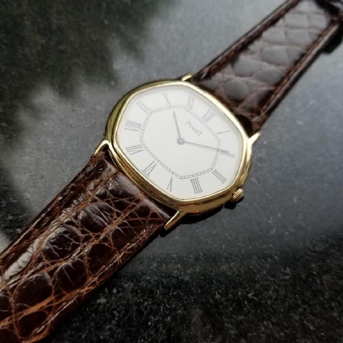 PIAGET ref.9597 Solid 18K Gold cal.9P2 Manual Hand-Wind - 4