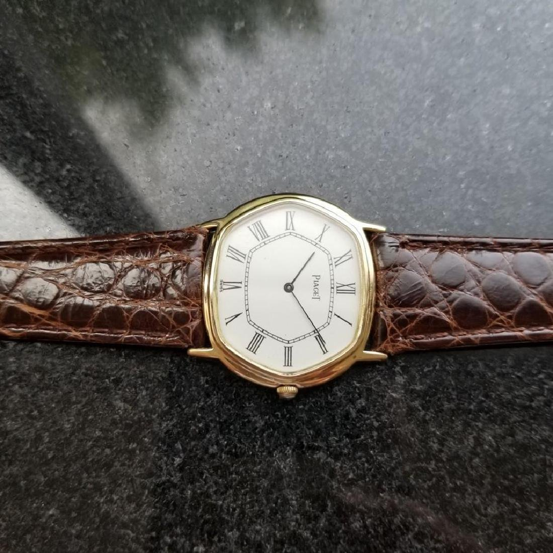 PIAGET ref.9597 Solid 18K Gold cal.9P2 Manual Hand-Wind - 5