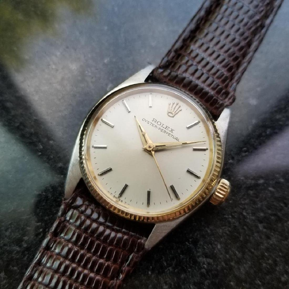 ROLEX Oyster Perpetual ref. 6551 31mm automatic 14k