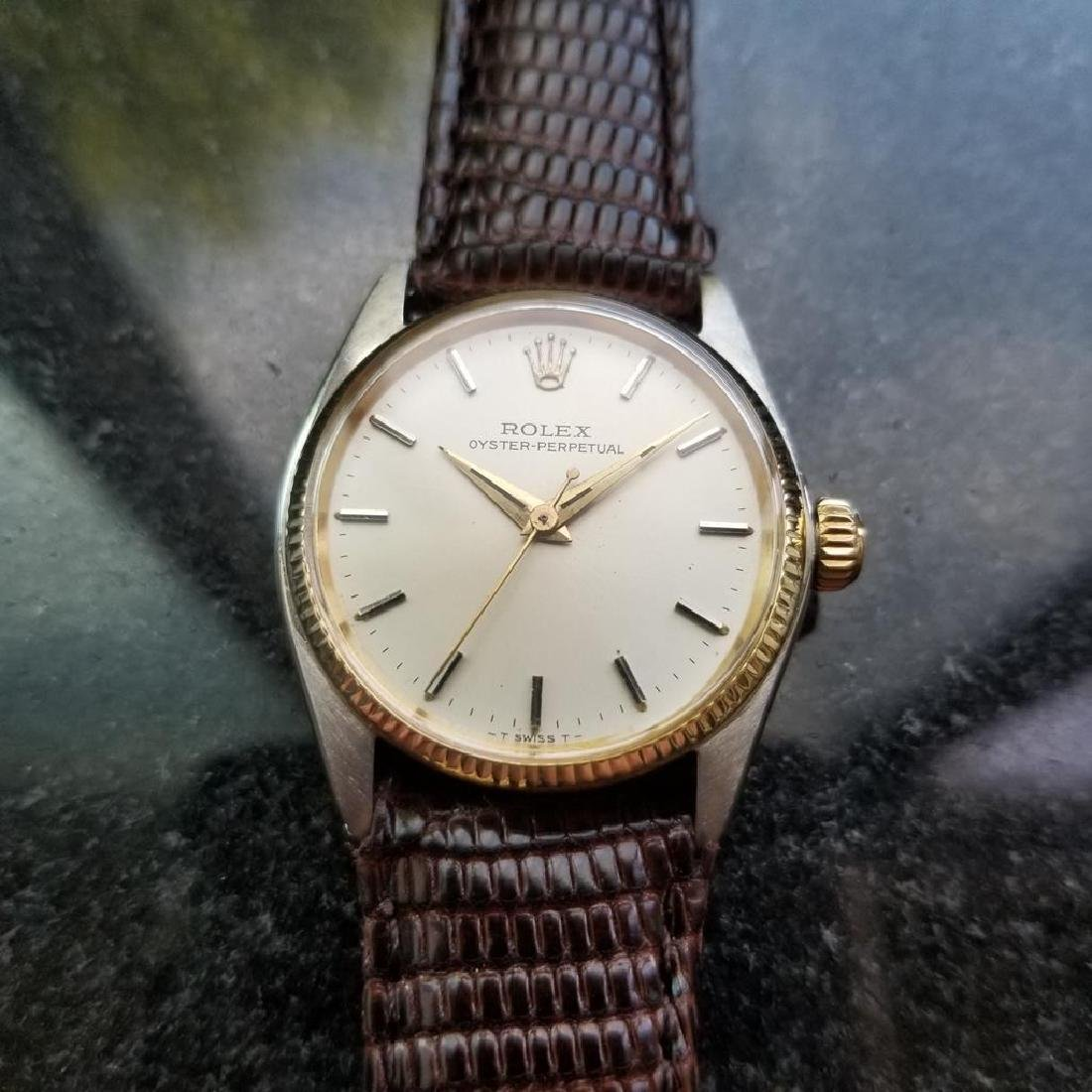 ROLEX Oyster Perpetual ref. 6551 31mm automatic 14k - 2