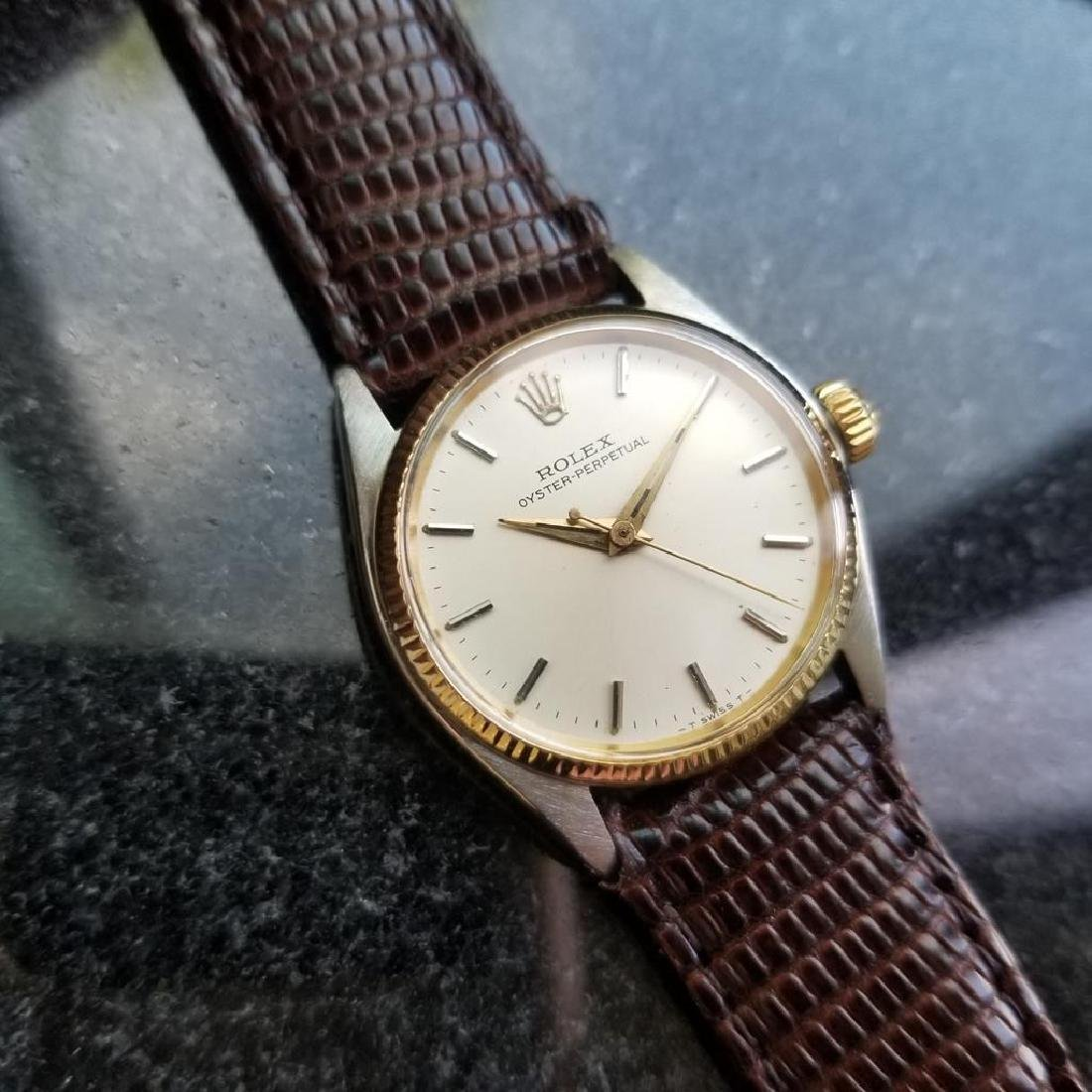 ROLEX Oyster Perpetual ref. 6551 31mm automatic 14k - 5