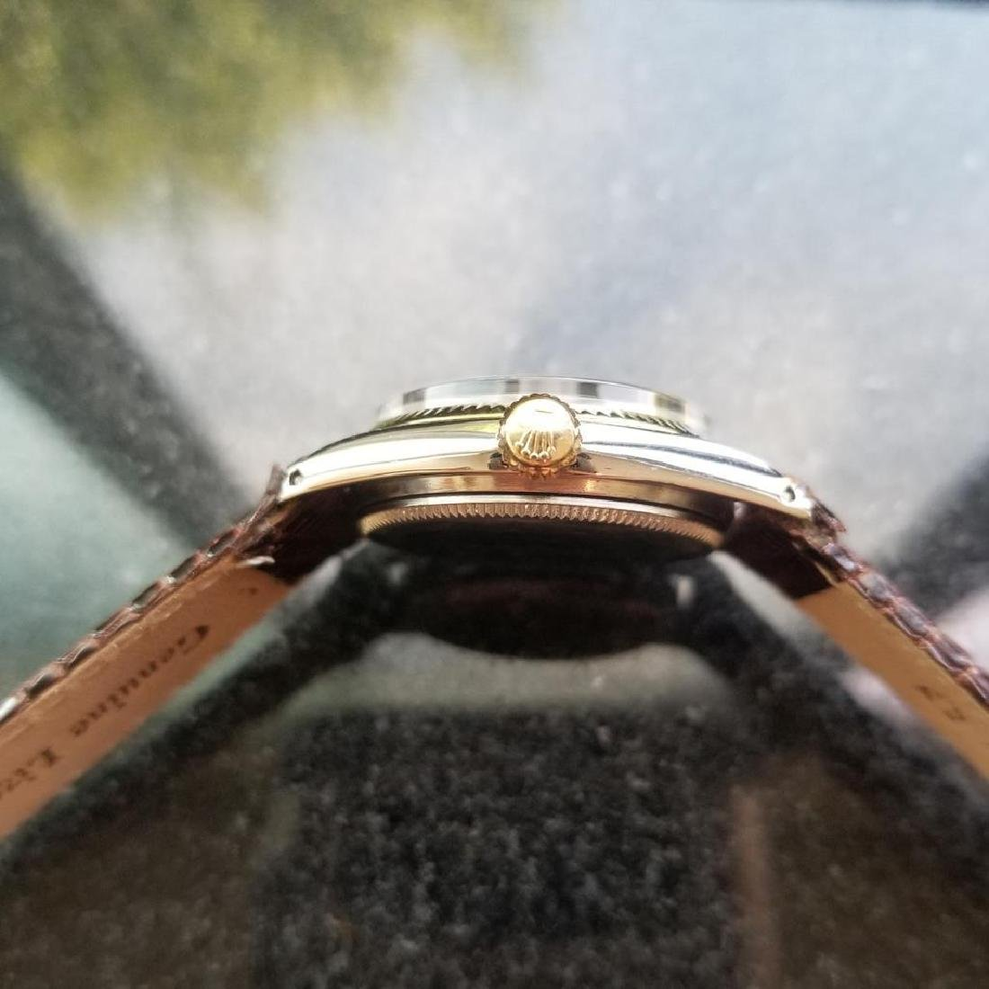 ROLEX Oyster Perpetual ref. 6551 31mm automatic 14k - 6