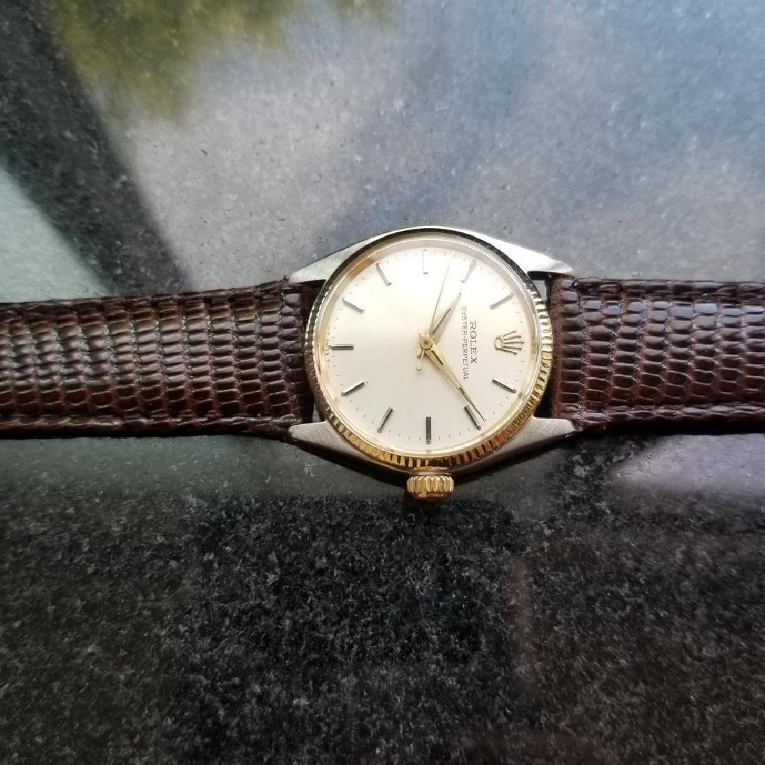ROLEX Oyster Perpetual ref. 6551 31mm automatic 14k - 7