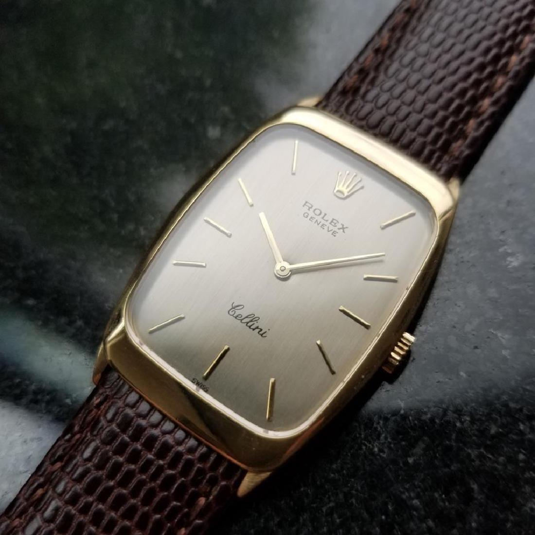 ROLEX Men's 18K Gold Cellini 4136 Hand-Wind Dress Watch